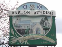 Barton Bendish Village Sign