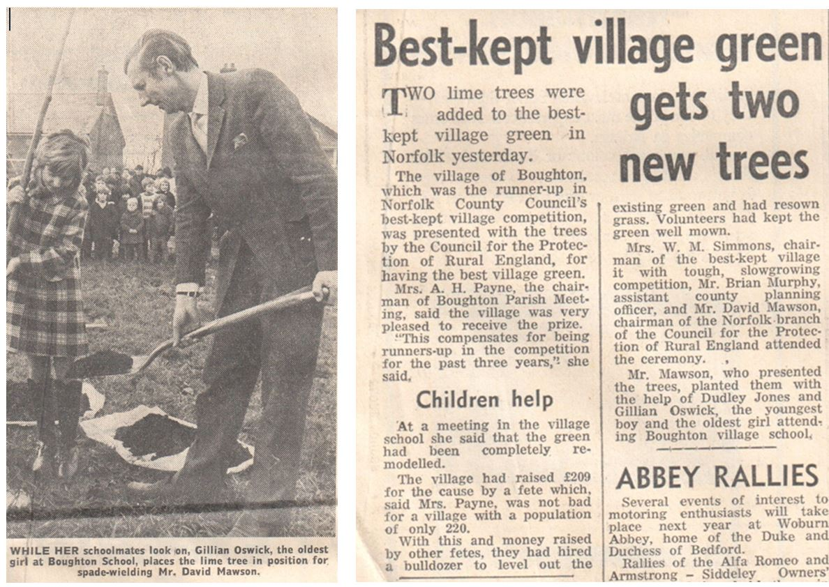 Best Kept Village 1971