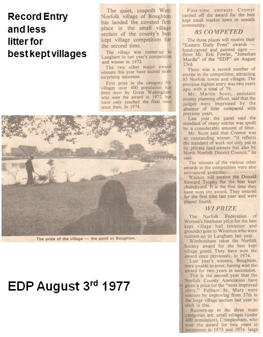 Best Kept Village 1977