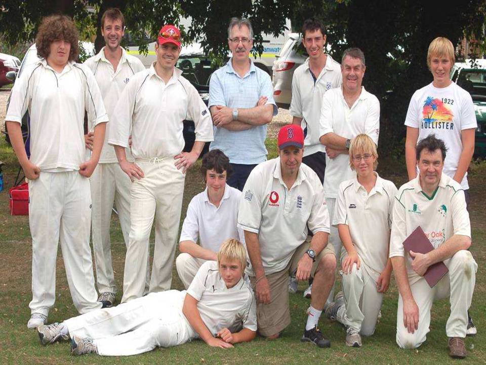 Boughton Cricket Team 2011