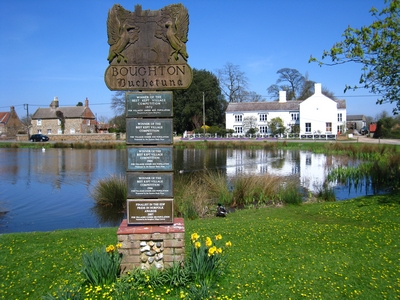 Boughton Village Sign
