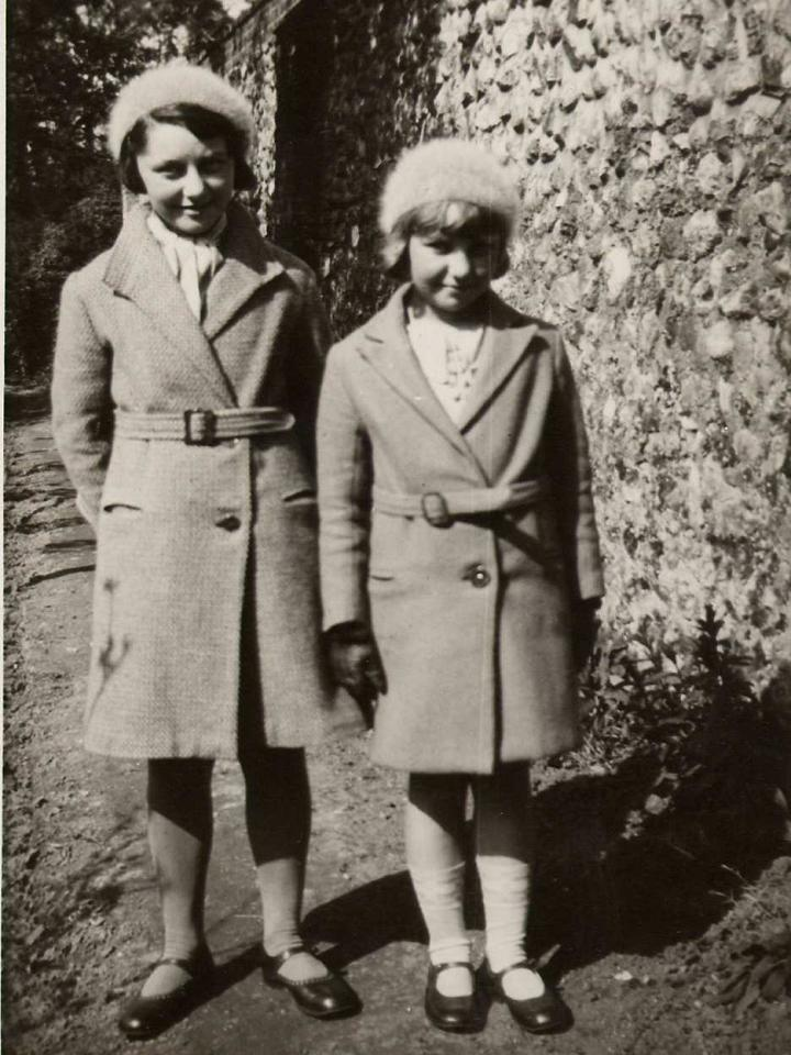 Doris Clarke and Greta