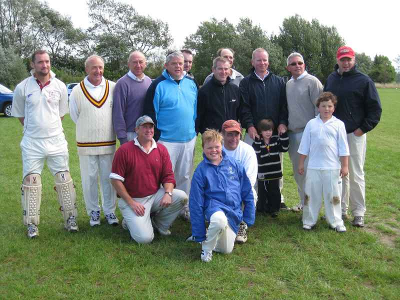 Boughton Cricket Club Inaugural Match at Boughton 29th August 2010