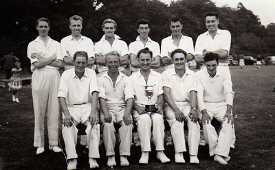 Boughton Cricket Team 1959