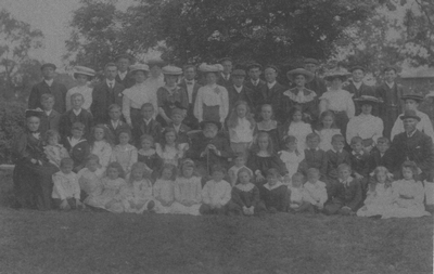Sunday School Children Circa 1903