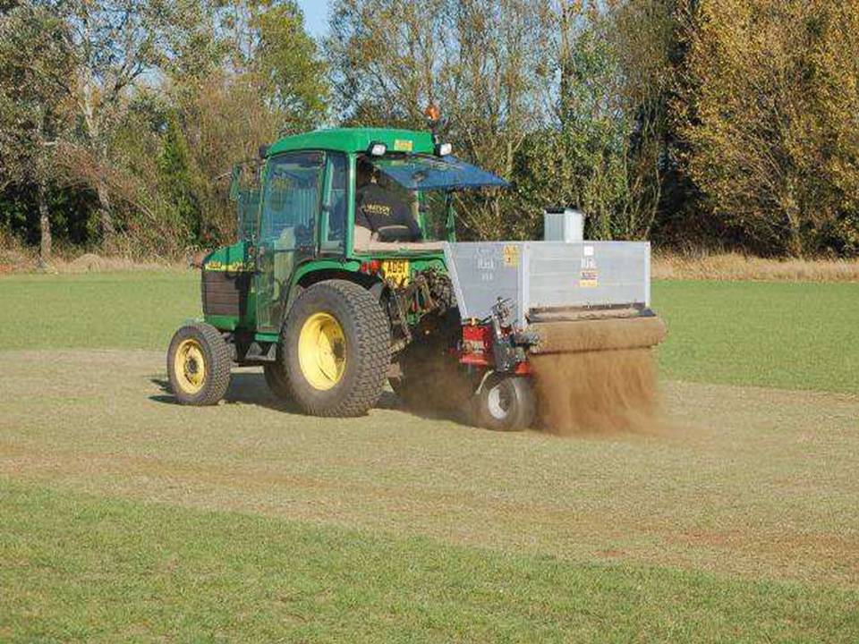 Boughton Cricket Pitch Laying